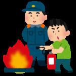 防災訓練&避難訓練